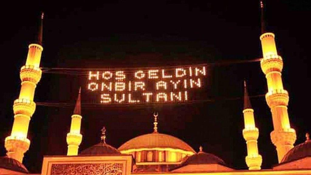 Ramazan Ayının ilk Orucu, 24 Nisan Cuma Günü