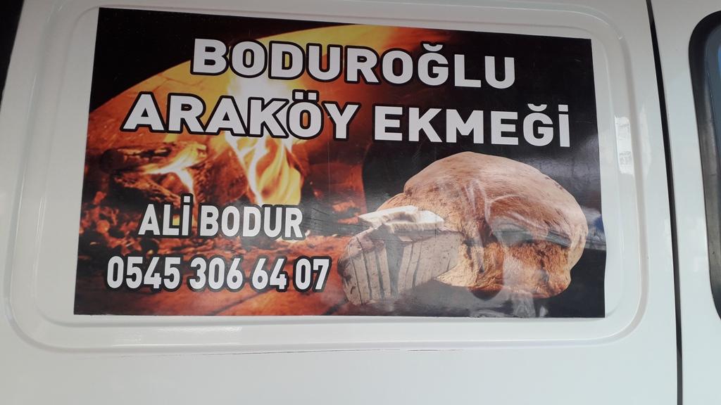 Lezzetin Adı Boduroğlu Araköy Ekmeği