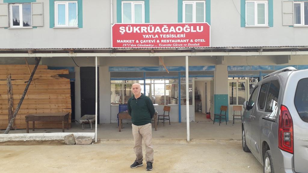 Şükrüağaoğlu yayla tesisleri hizmete açıldı
