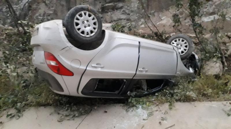 Kürtün-Doğankent Karayolunda Trafik Kazası