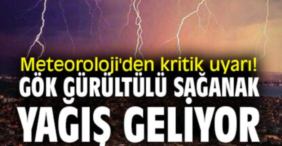 Doğu Karadeniz'de Kuvvetli Sağanak Yağışlara Dikkat