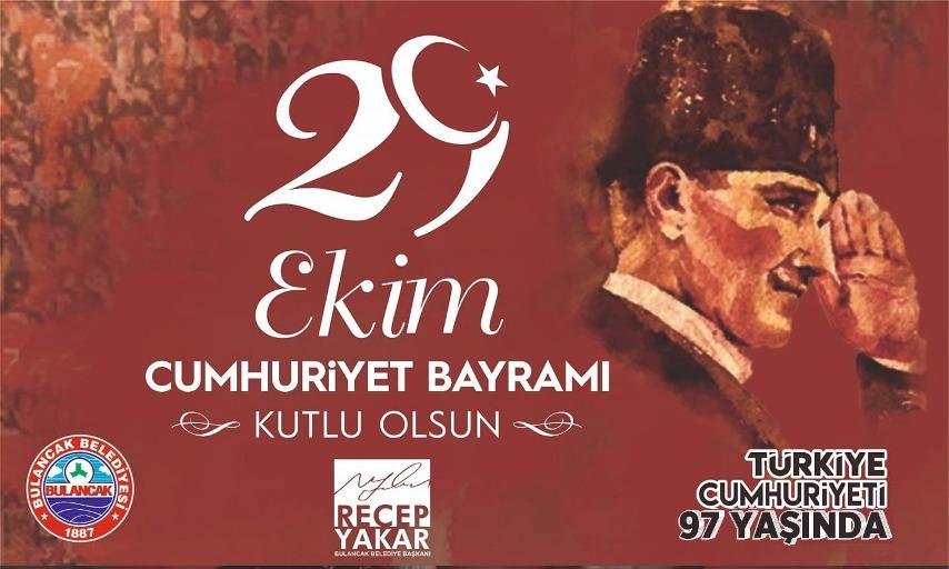 Başkan Yakar'dan Cumhuriyet Bayramı Mesajı