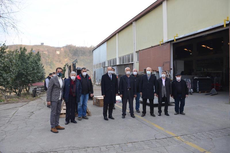 Milletvekili Öztürk'ten Sanayi Bölgesine Ziyaret