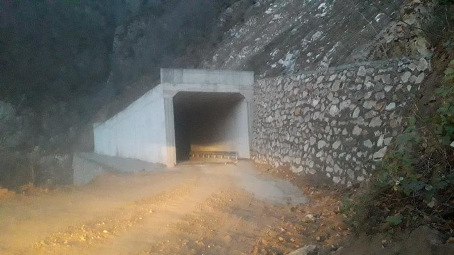 Çatalağaç Köyü Grupyolu Tüneli Hizmete Girdi