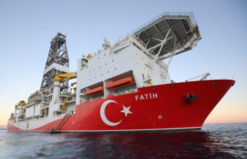 Fatih Sondaj Gemimiz Karadeniz'de