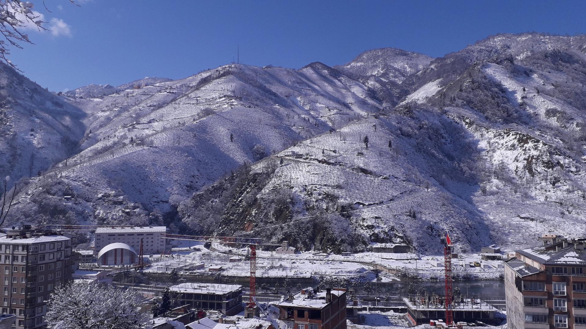 Doğankent'ten Kar Manzaraları_21