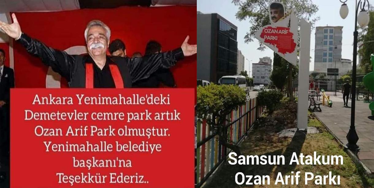 Ülkücü Ozan Arif'i İyi Parti ve CHP Sahiplendi