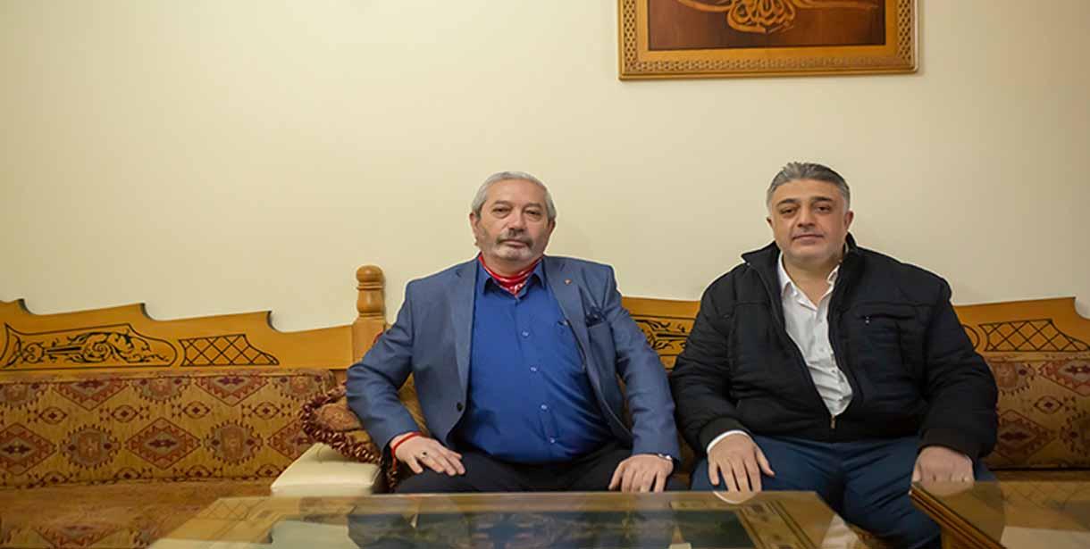 Çamoluk Dernek başkanı Hacı Canik'in basın açıklaması