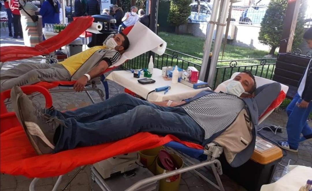 Danışman Köyü Derneği kan bağışı