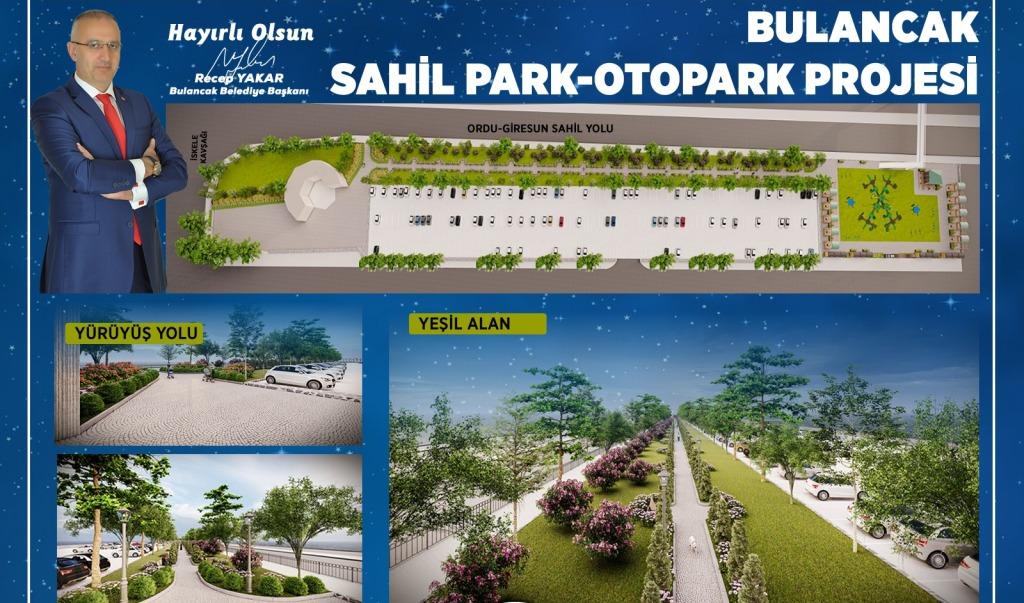 Sahil Park-Otopark Projesinde Detaylar Netleşti