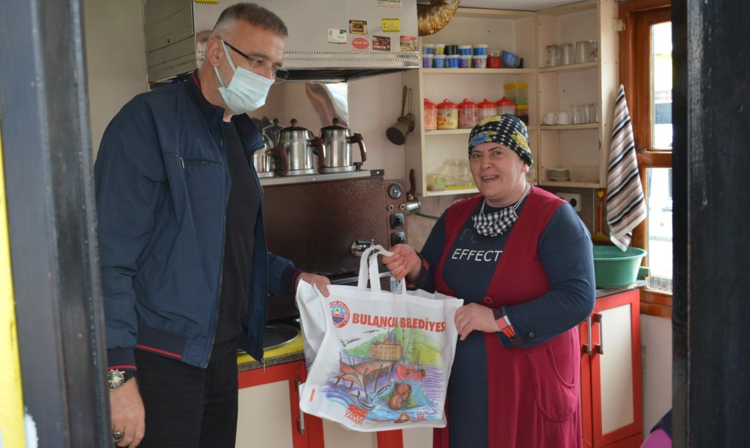 Bulancak Belediyesi'nden Çay Ocağı ve Kıraathanelere Destek