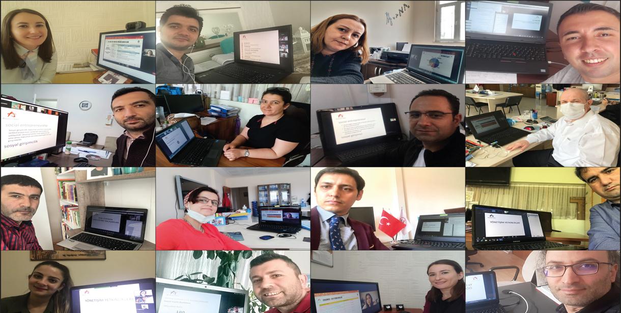 Anadolu Vakfı Değerli Öğretmenim Programı çevrim içi eğitimlerle aynı anda 81 ildeki öğretmenlere ulaşacak