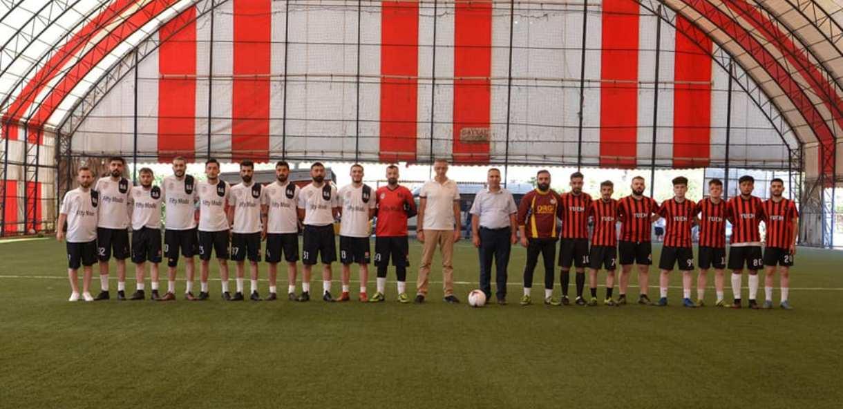 Bulancak Belediyesi Serdar Aydın Futbol Turnuvası devam ediyor