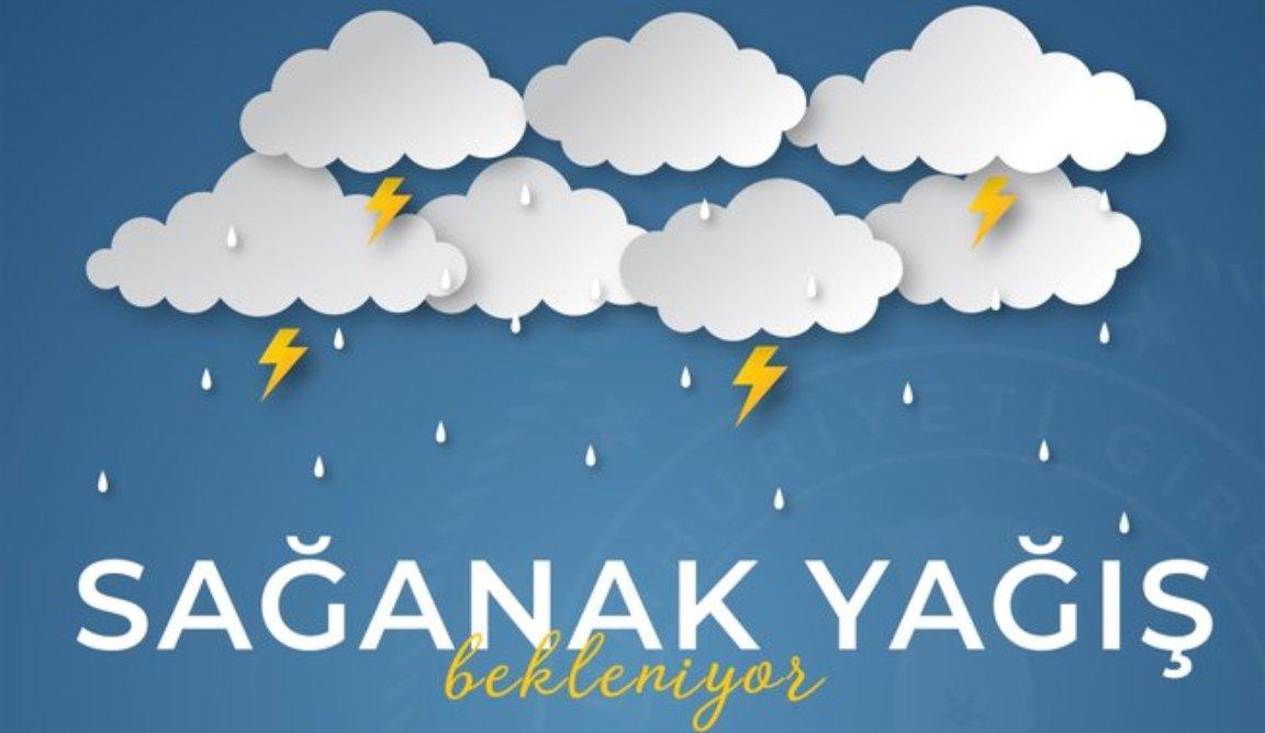 Vali Ünlü'den Kuvvetli Yağış Uyarısı