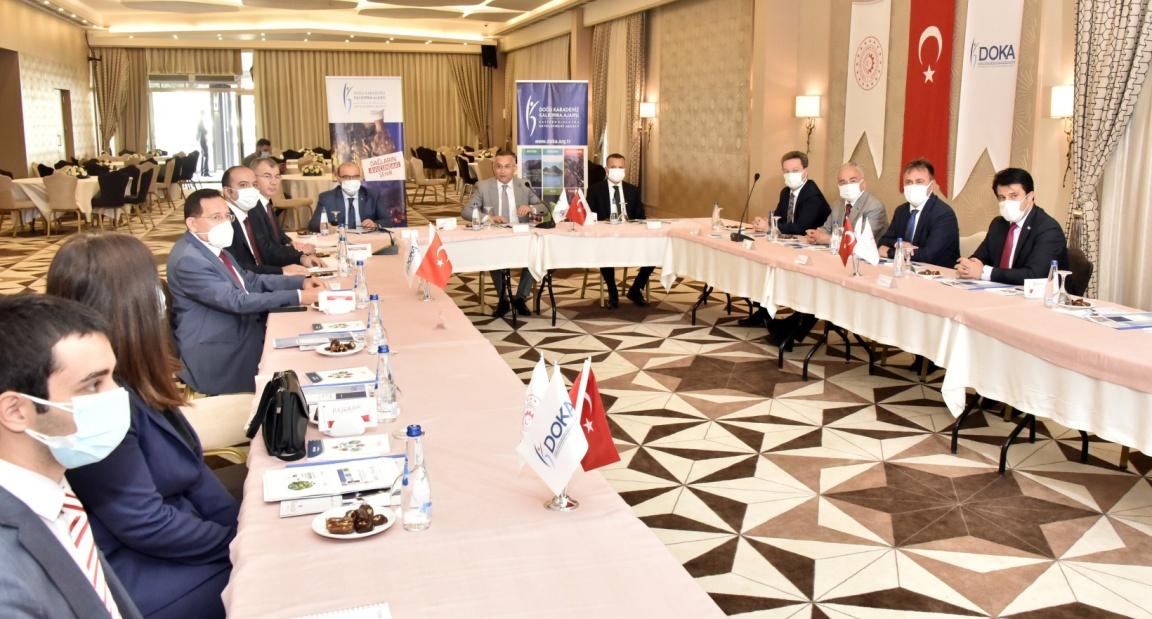 DOKA'nın 144.yönetim kurulu toplantısı Gümüşhane'de yapıldı