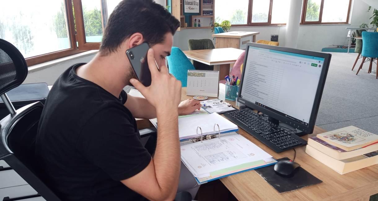 TÜGVA Bulancak üyeleri ile tek tek iletişim kuruyor