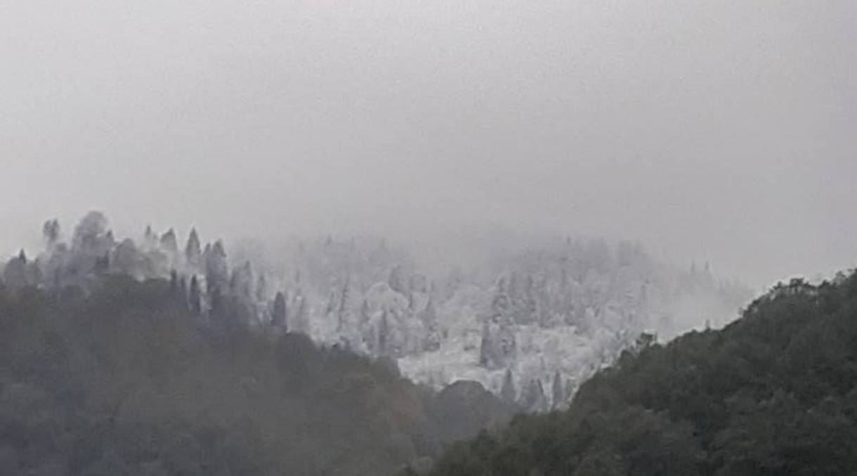 Vadinin Yaylalarına Kar yağdı